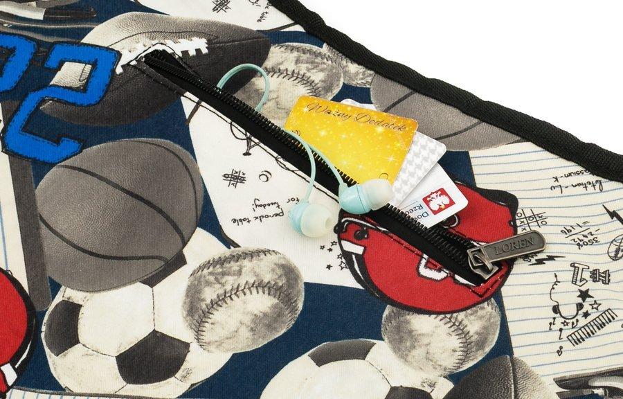 Loren® materiałowa torebka listonoszka damska kolory