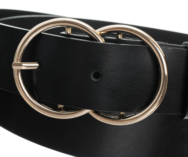 Badura® elegancki skórzany damski pasek skóra 25 mm