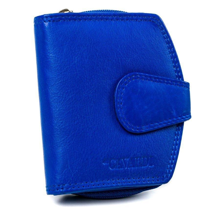 Piękny portfel damski marki CAVALDI® pionowy zatrzask