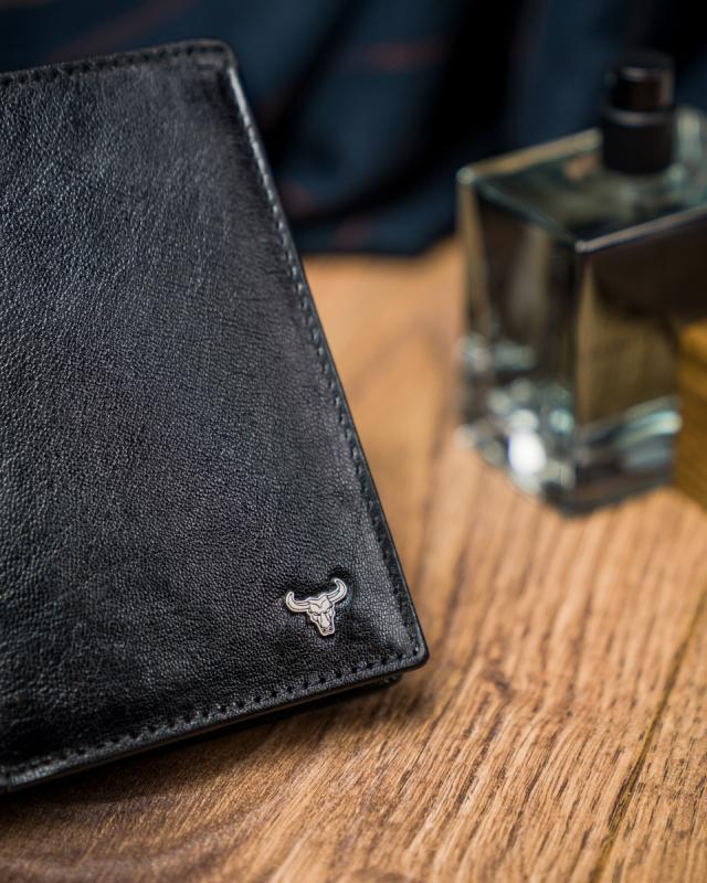 Elegancki portfel męski skórzany Buffalo Wild®