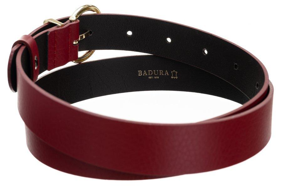 Badura® elegancki damski pasek skóra naturalna 28 mm