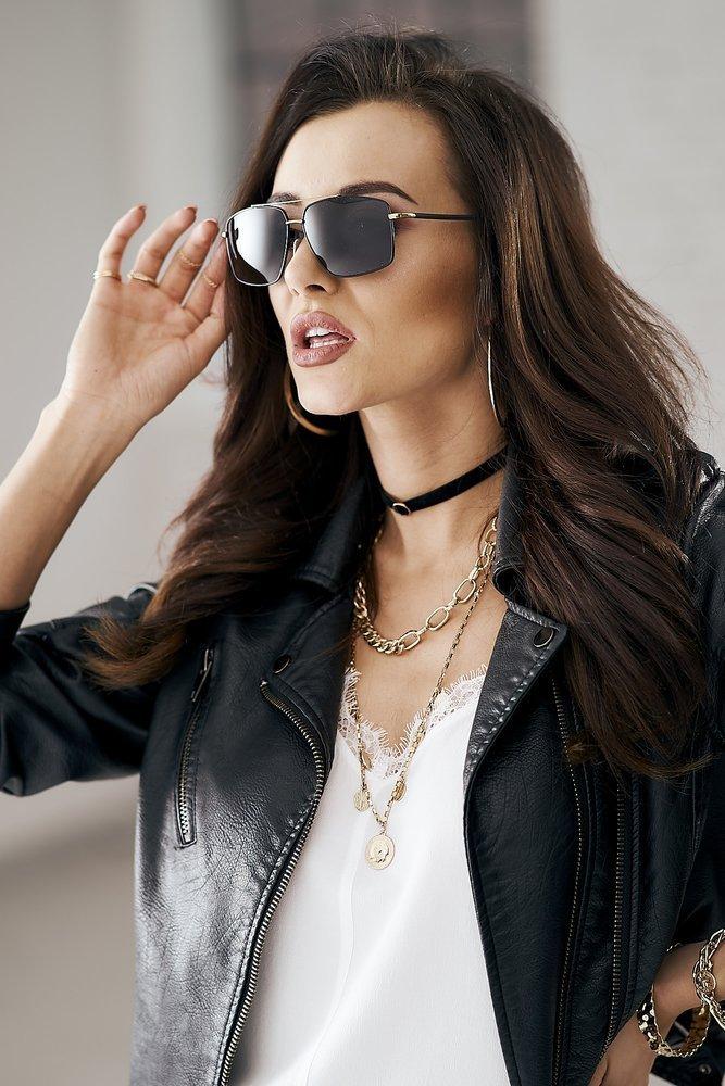 Rovicky okulary przeciwsłoneczne polaryzacyjne prostokątne